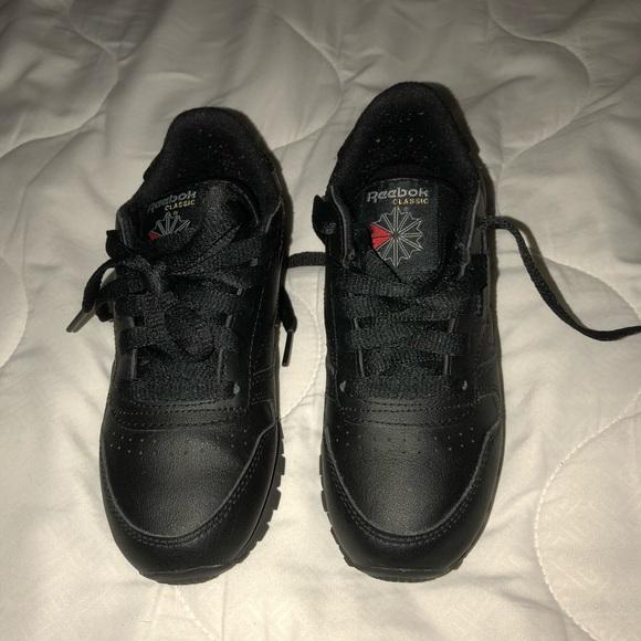 2b6d6d074 Reebok Shoes | Classic S All Black | Poshmark